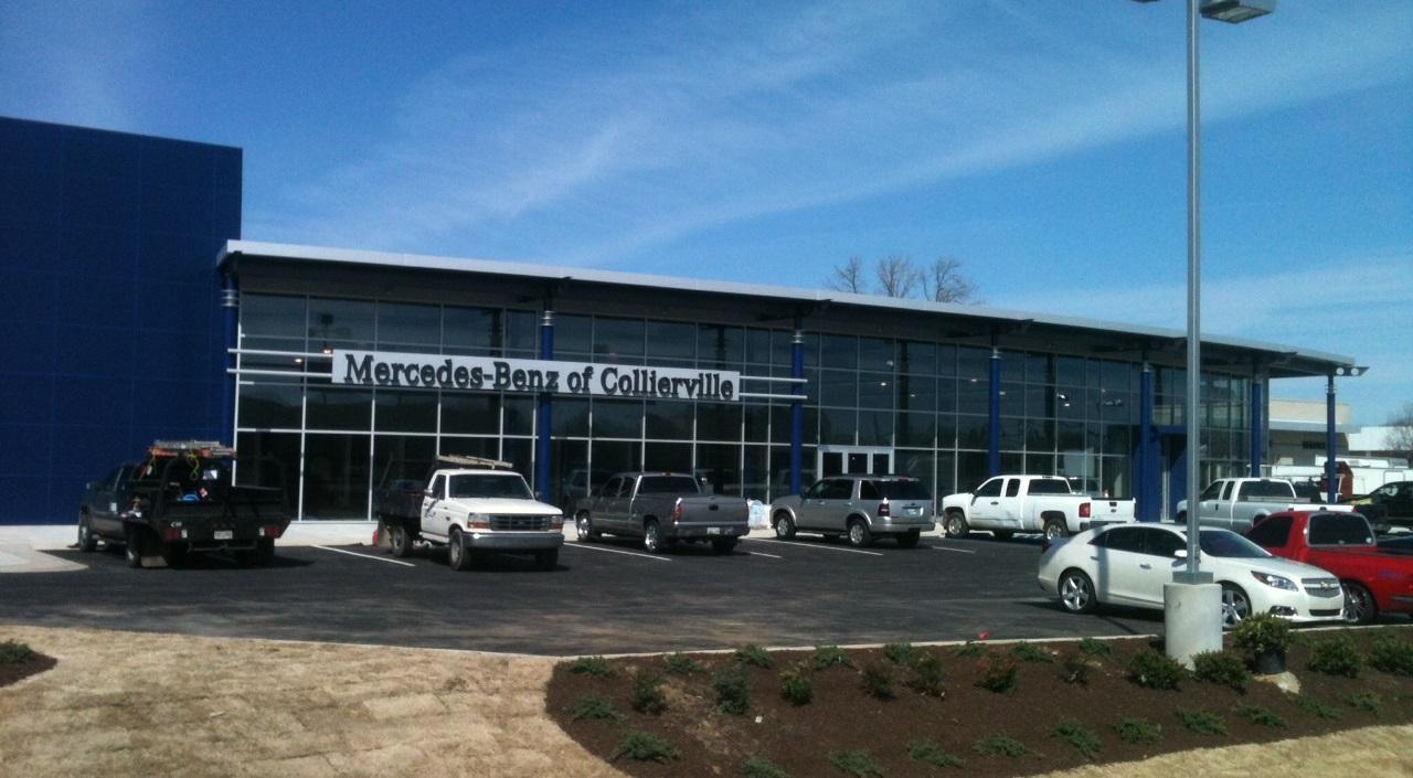 Barham cain mynatt inc retail projects for Mercedes benz of collierville
