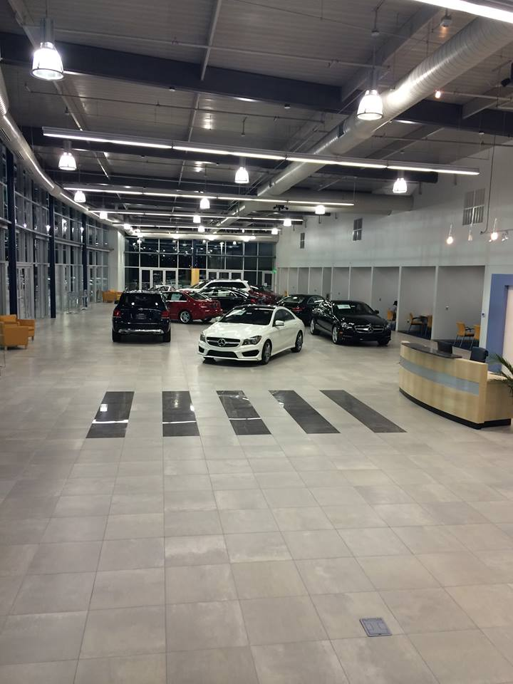 Mercedes Benz Of Memphis >> Barham, Cain, Mynatt, Inc.: Retail Projects